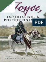 Leonard Orr-Joyce, Imperialism, & Postcolonialism (Irish Studies)-Syracuse University Press (2008)