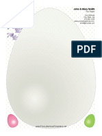 Easter Letterhead Big Egg