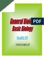 General Biology Paidi 2011