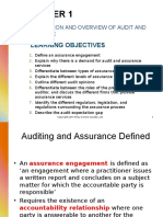 Chapter 1 - Introduction and Overview of Audit and Assurance