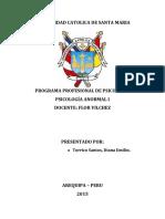 Manual Diagnostico y Estadístico de Los Trastornos Mentales