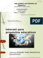 Internet Para Propósitos Educativos Com. Virtu