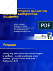 Overview Enterprise Replication