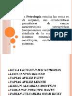 EQUIVALENCIAS PETROGRAFICAS