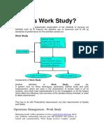 2.1 Work Study