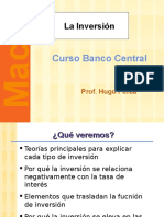 La Inversion - Macroeconomia