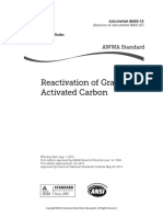 (ANSI_AWWA B605-13) -Reactivation of Granular Activated Carbon-American Water Works Association (2013)