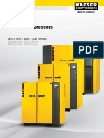Kaeser Screw Compressors ASD, BSD, CSD Series