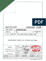 E-8 Maintenance Report of Storage Batteries.pdf
