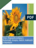 Tema 02 Biogeografia Ecologica I