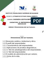 Dimensiones Del Ser Humano y Apv