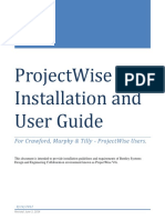 CMT ProjectWise V8i Installation and User Guide