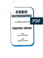 CSEC Mathematics 10PracticeTests