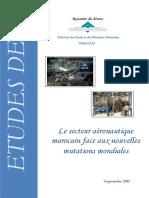 Le secteur aéronautique marocain face aux nouvelles mutations mondiales