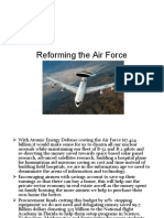 Reforming the Air Force