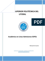 Manual de Usuario Admisiones-ESPOL