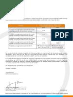 Carta Cambio dfdge Tarifa 2016