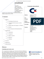 Commodore International - Wikipedia, The Free Encyclopedia