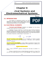 2-Chapters Chapter 6 Electrical and Electromechanical Systems 2