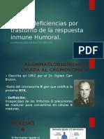 Inmunodeficiencias Por Trastorno de La Respuesta Inmune Humoral