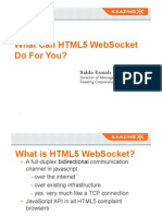 What Can HTML5 Web Sockets Do for You