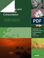 Biodiver Biodiversities and sustainable consumptionsities and Sustainable Consumption