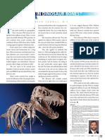 DNA in Dinosaur Bones?