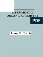 Experimental Organic Chemistry by Norris James f 2