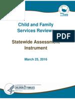 Assessment of Oregon Child Welfare System