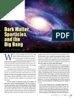 Dark Matter, Sparticles, And the Big Bang