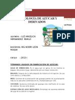 TECNOLOGIA DE AZUCAR
