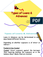 Types of Loans & Advance With Special Reference to DBBL-2003