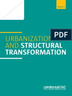 Urbanization and Structural Transformation