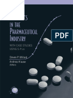 Applied Statistics in theApplied Statistics in the Pharmaceutical Industry Pharmaceutical Industry