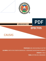 Tabla de Causas y Efectos