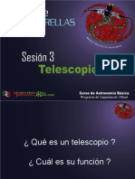 Curso Teorico Sesion 3 - Telescopios