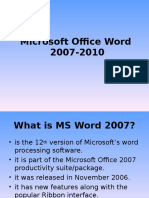 introduction to msword2007