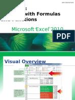 Microsoft Excel Advance Formulas