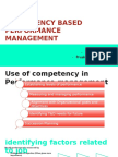 Competency Based Performance Management