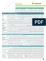 Retail Lending Application Form FA