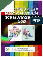 Statistik Kecamatan Kemayoran 2015