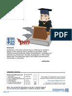 Graduate Hako Paper Model by Ichinogami NO PASS by LEX
