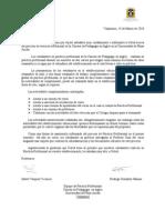 Carta a Directores