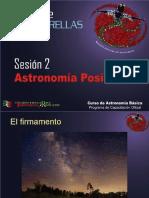 Curso Teorico Sesion 2 - Astronomia Posicional