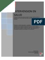 Intervension en Salud