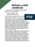 Feudalismo y Arte Medieval word