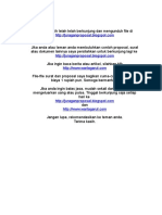 Proposal Ternak Ikan Lele