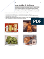 Alimentos Protegidos de Andalucía