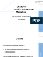 3 - Market Research Six Step Model