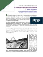 Várzeas (Tierras Inundables) Irrigables y Sostenibilidad